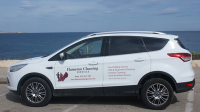 Flamenco property services car
