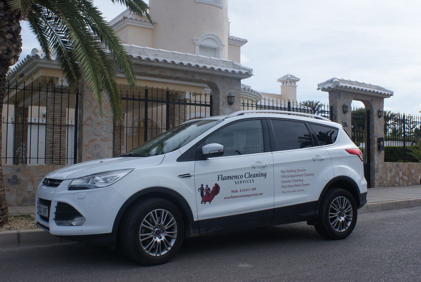 Flamenco property services car villa
